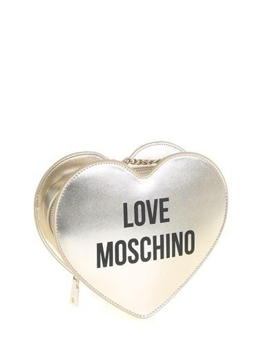 Love Moschino Omuz Çantası Altın